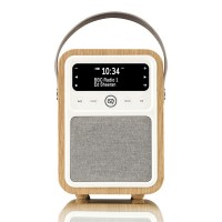 VQ Monty Portable DAB+/FM Radio & Bluetooth Speaker in Oak
