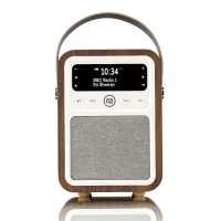 VQ Monty Portable DAB+/FM Radio & Bluetooth Speaker in Walnut
