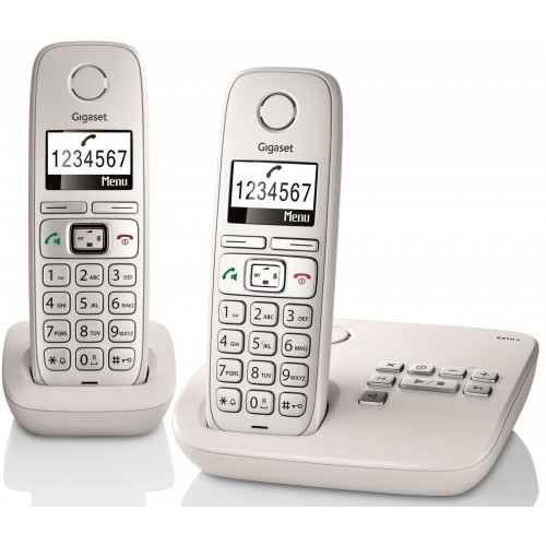 Siemens Gigaset E310A Twin Big Button DECT Cordless Phone