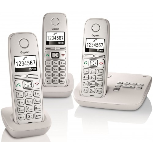 Siemens Gigaset E310A Trio Big Button DECT Cordless Phone