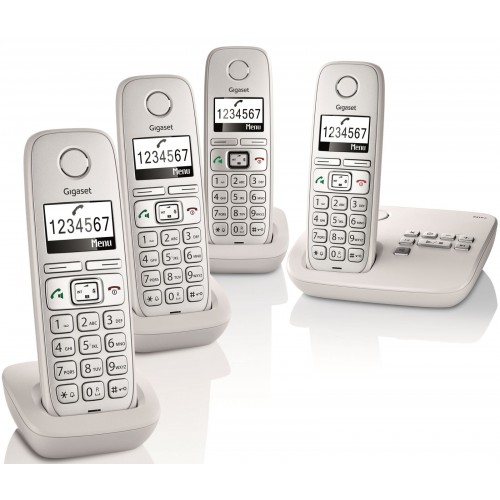 Siemens Gigaset E310A Quad Big Button DECT Cordless Phone