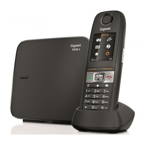 Siemens Gigaset E630A Robust DECT Cordless Phone, Single Handset - 1