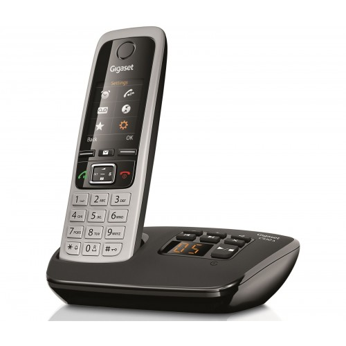 Siemens Gigaset C430A Cordless Phone, Single Handset with Answer Machine - 1