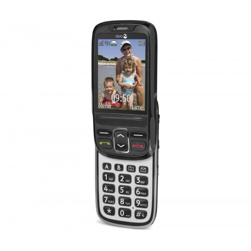 Doro PhoneEasy 715 GSM Sim Free Mobile Phone - Black