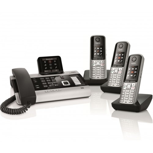 Siemens Gigaset DX800A Quad with S810H IP DECT Phone