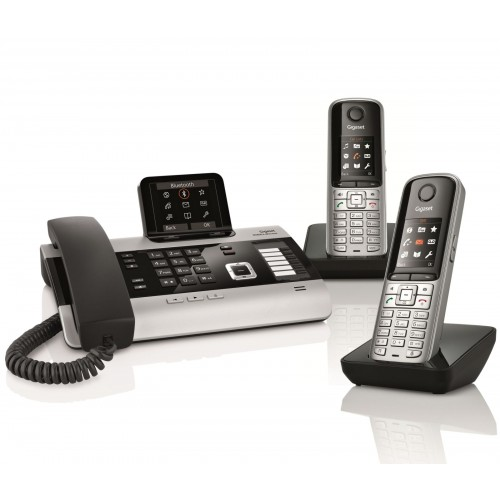 Siemens Gigaset DX800A Trio with S810H IP DECT Phone