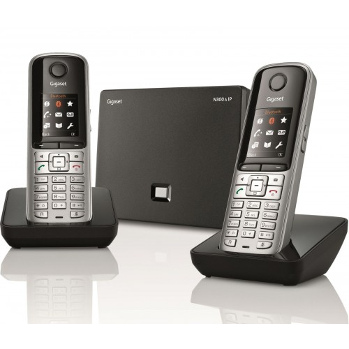 Siemens Gigaset S810A Twin IP VoIP DECT Phone