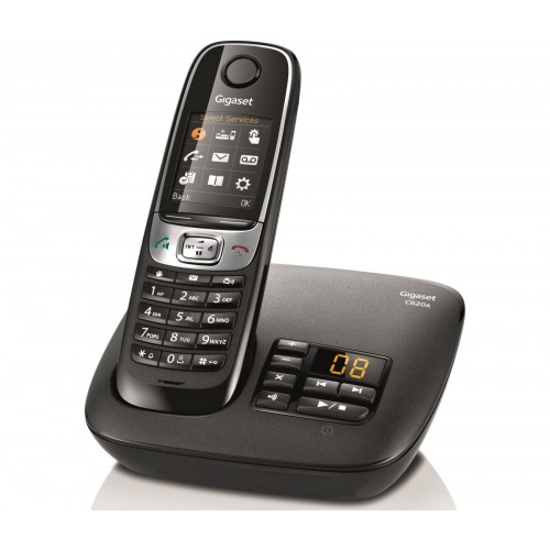 Siemens Gigaset C620A Cordless Phone, Single Handset with Answer Machine