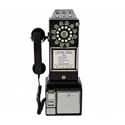 Wild & Wolf 1950s American Diner Phone