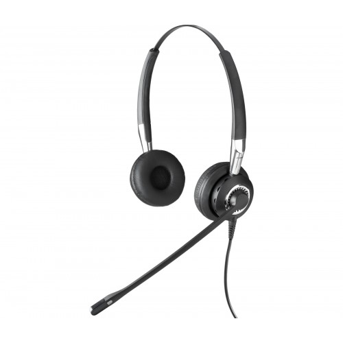 Jabra BIZ 2400 USB Duo MS Corded Headset