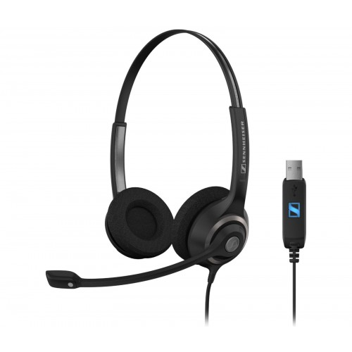 Sennheiser SC 260 USB MS II Corded Headset for PC