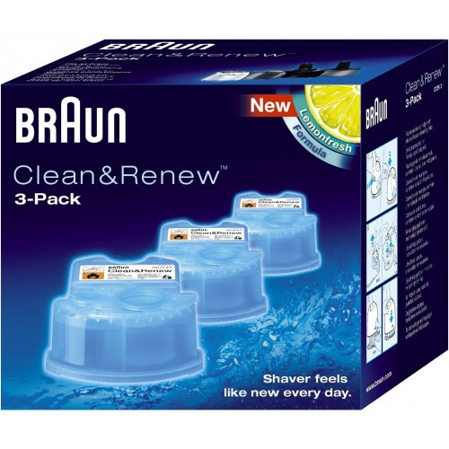 Braun Clean & Renew Refill Cartridges