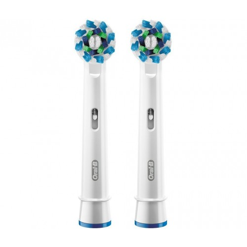 Oral-B CrossAction Toothbrush Heads (Pack of 2)