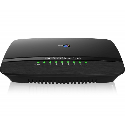 BT 8-Port Gigabit Ethernet Switch