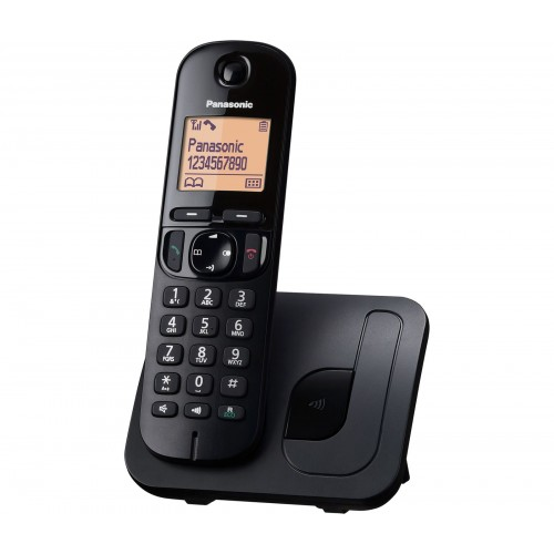 Panasonic KX-TGC 210EB Cordless Phone, Single Handset