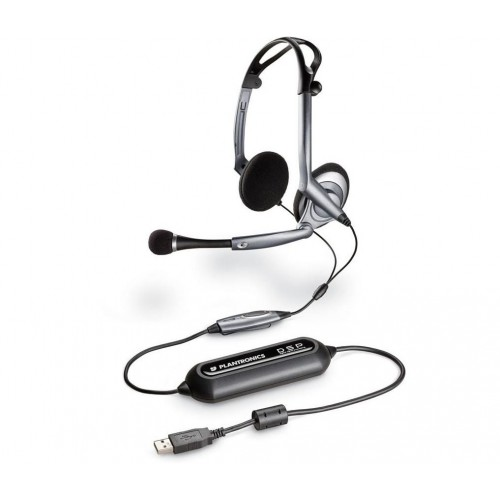 Plantronics .Audio DSP-400 USB PC Headset with Microphone Corded Headset and Microphone Peripheral