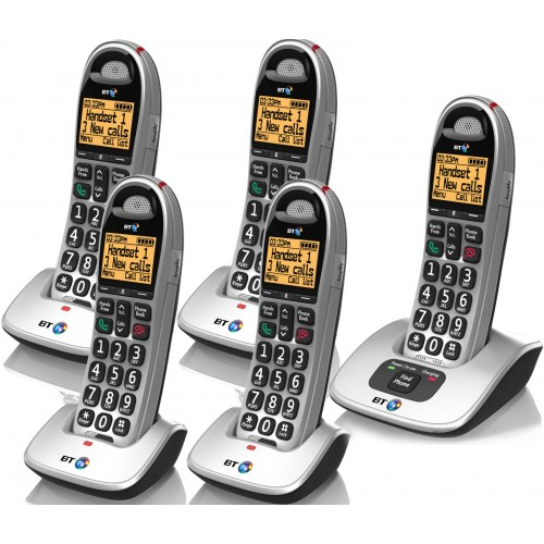 BT 4000 Quint Big Button Cordless Phone