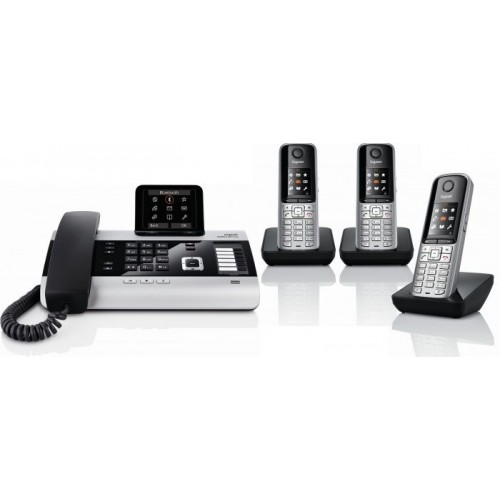 Siemens Gigaset DX800A Quint  with S810H IP DECT Phone