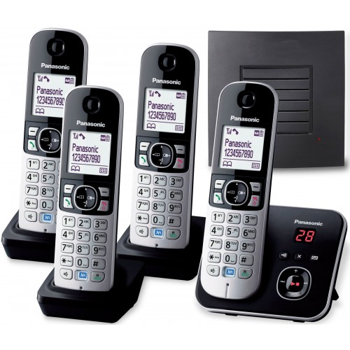 Panasonic KX-TG 6824 Quad with Extended Range