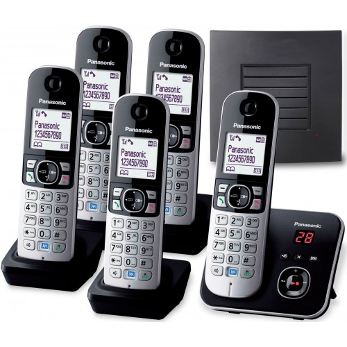 Panasonic KX-TG 6825 Quint with Extended Range