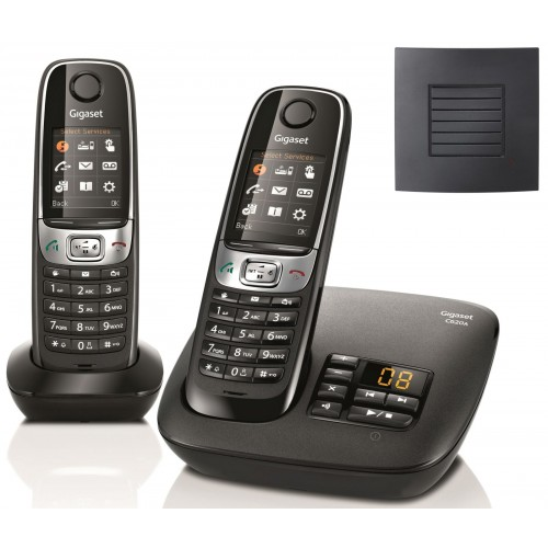 Siemens Gigaset C620A Twin Cordless Phones with Long Range