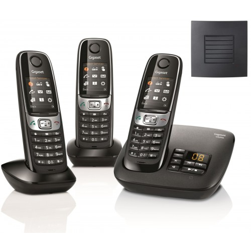 Siemens Gigaset C620A Trio Cordless Phones with Long Range