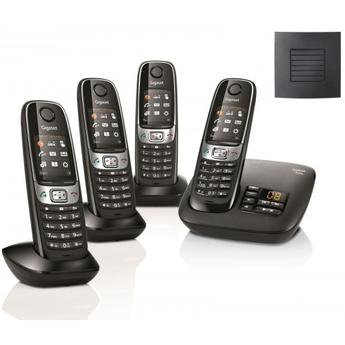 Siemens Gigaset C620A Quad Cordless Phones with Long Range