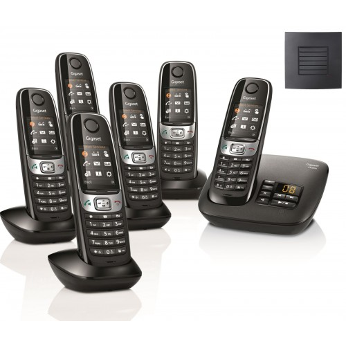 Siemens Gigaset C620A Sextet Cordless Phones with Long Range