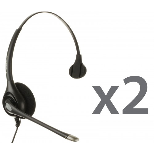 Plantronics HW251N Corded Headset Twin