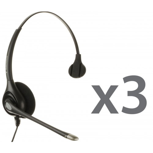 Plantronics HW251N Corded Headset Trio