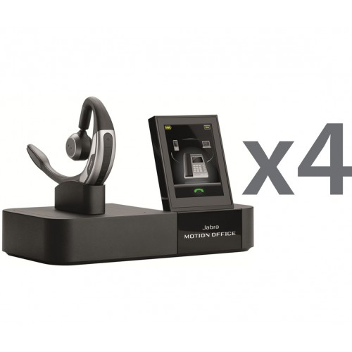 Jabra Motion Office Wireless UC Quad