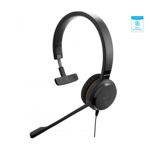 Jabra Evolve 30 MS Mono Headset for PC
