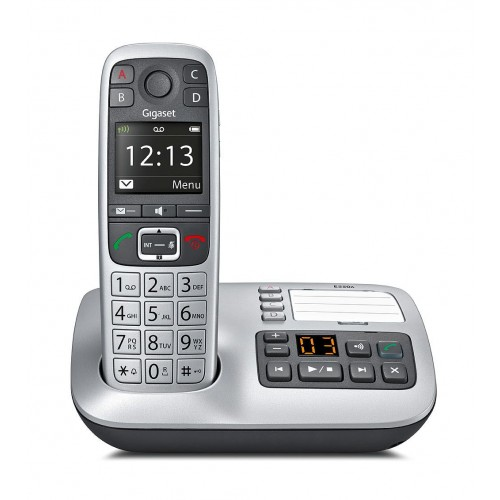 Siemens Gigaset E550A Big Button Cordless Phone