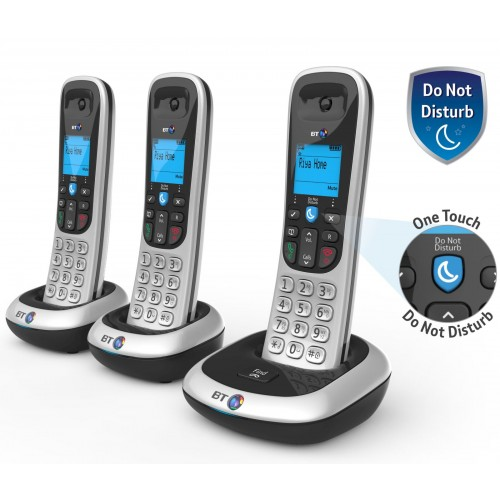 BT 2100 Trio Cordless Phones