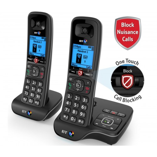 BT 6600 Twin Cordless Phones