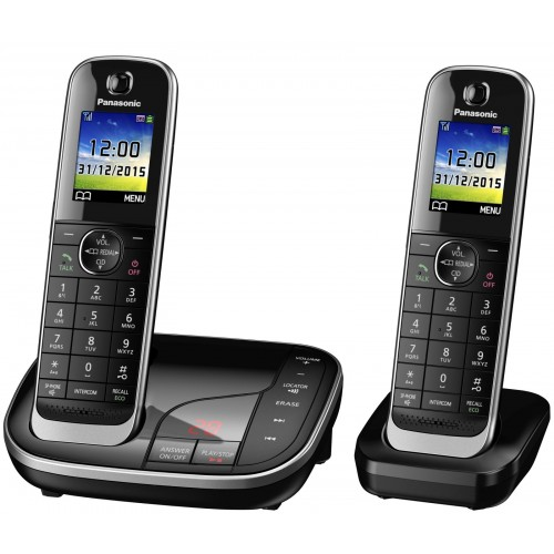 Panasonic KX-TGJ322EB Twin Cordless Phone