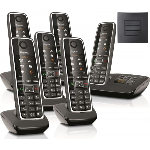 Siemens Gigaset C530A Sextet Cordless Phones with Long Range