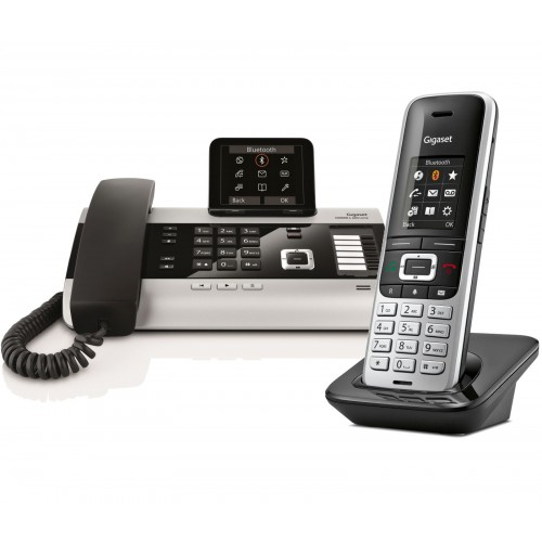 Siemens Gigaset DX800A Twin with S850H IP DECT Phone