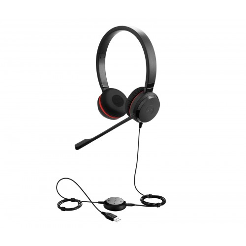 Jabra Evolve 30 II MS Stereo Corded Headset