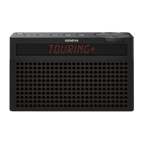 Geneva Touring S+ Portable DAB Radio & Bluetooth Speaker in Black