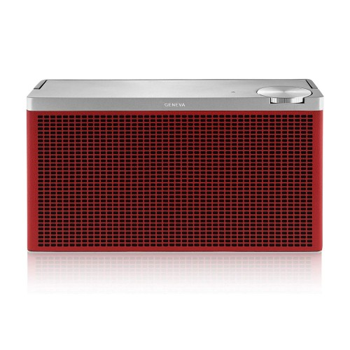 Geneva Touring M Portable Bluetooth Speaker in Red