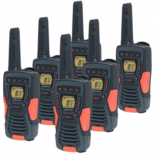 Cobra AM1035 12km Sextet Walkie Talkies