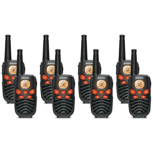 Binatone Latitude 250 Eight Pack Two Way Radios