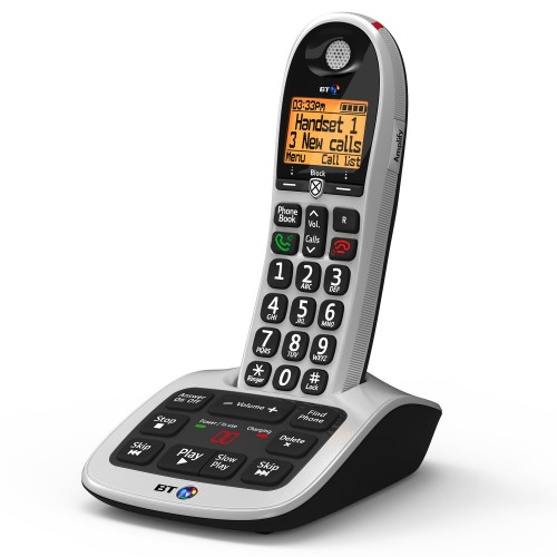 BT 4600 Cordless Phone with Big Buttons