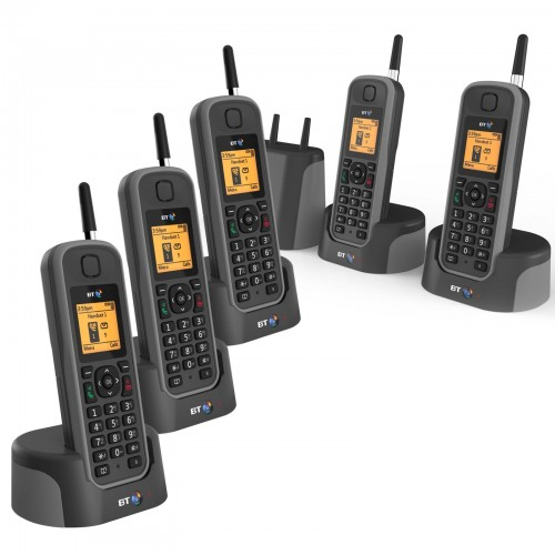 BT Elements 1K Quint Long Range Cordless Telephone - 1
