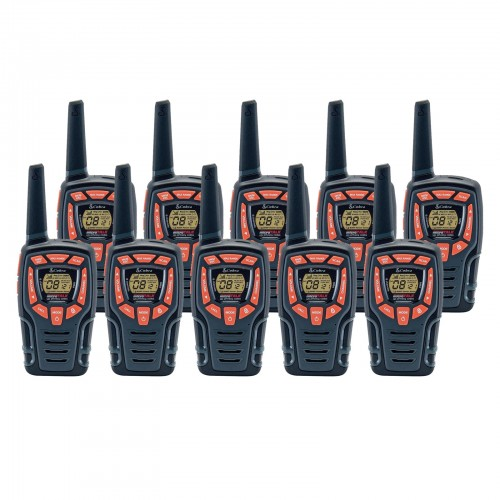 Cobra AM845 Ten Pack Walkie Talkies