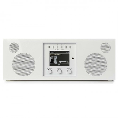 Como Audio Duetto DAB+/FM Radio with Internet Radio & Multi-Room Functionality in White