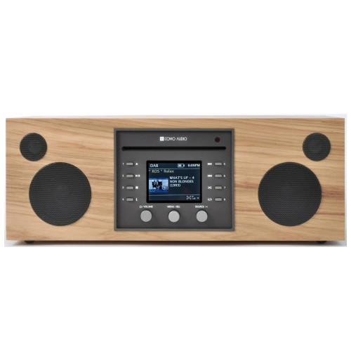 Como Audio Musica DAB+/FM Radio with Internet Radio & CD Player in Hickory