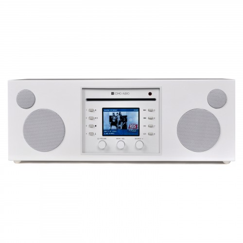 Como Audio Musica DAB+/FM Radio with Internet Radio & CD Player in White