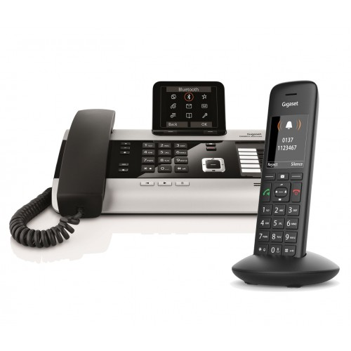 Siemens Gigaset DX800A Twin with C570H IP DECT Phone